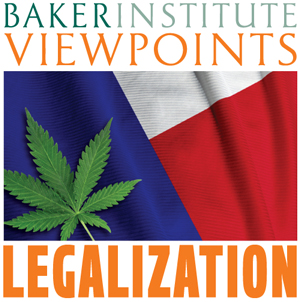 The Rice University Baker Institute series on marijuana policy asks when will marijuana by legal in Texas?