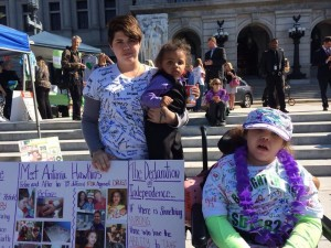 Pennsylvania rally by Campaign 4 Compassion at state Capitol on September 15.