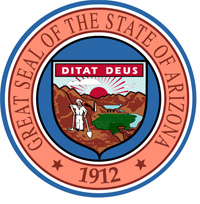 """Arizona-StateSeal"" by U.S. Government - ATSDR (part of the CDC) series of state-specific fact sheets. Licensed under Public domain via Wikimedia Commons - http://commons.wikimedia.org/wiki/File:Arizona-StateSeal.svg#mediaviewer/File:Arizona-StateSeal.svg"